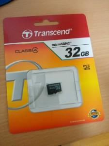 マイクロSDカード32GB