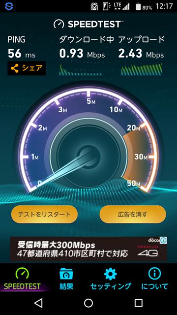 スピードテスト1
