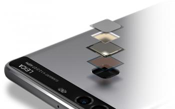 P9の指紋認証センサー